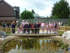 Our gardening/outdoor classroom opening